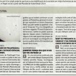 Trànsit de la ISS pel sol a Diari de Girona