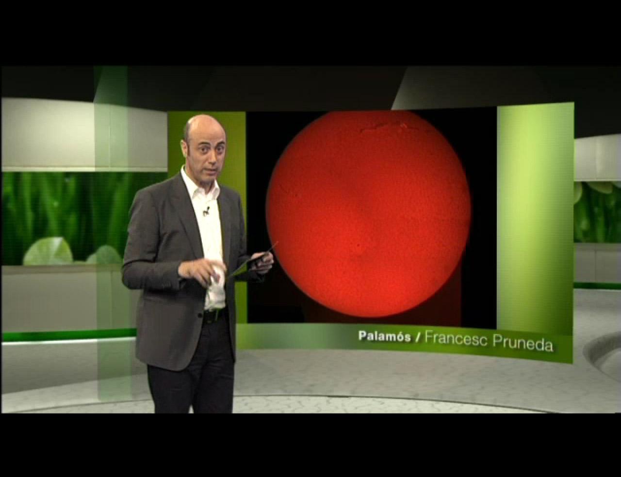 Filament solar a l'Espai terra