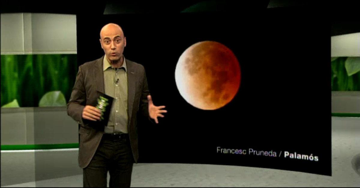 Eclipsi de lluna a l\'Espai terra