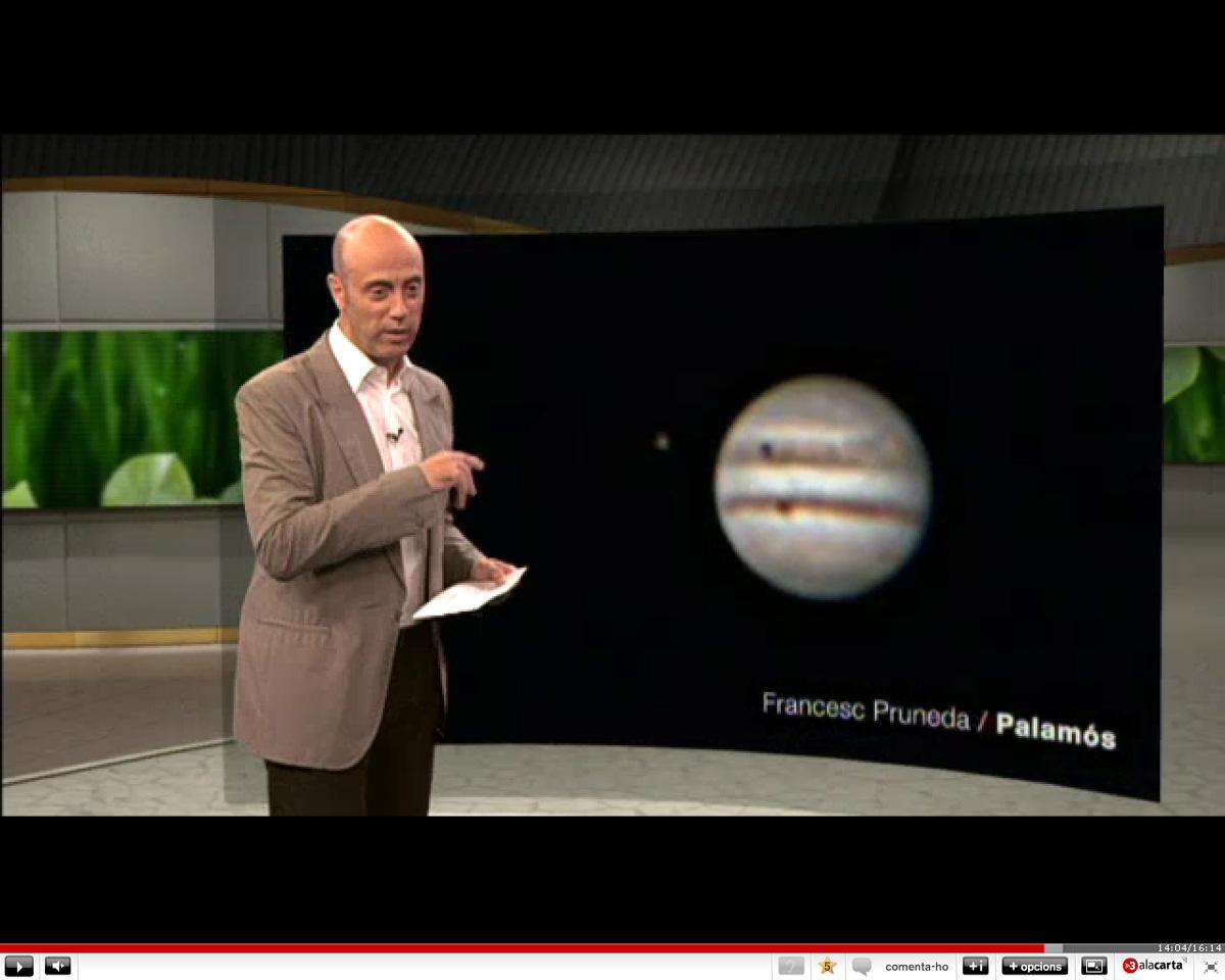 Júpiter a Espai Terra