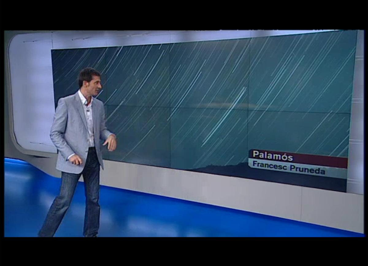 Dracònides a El temps vespre, TV3