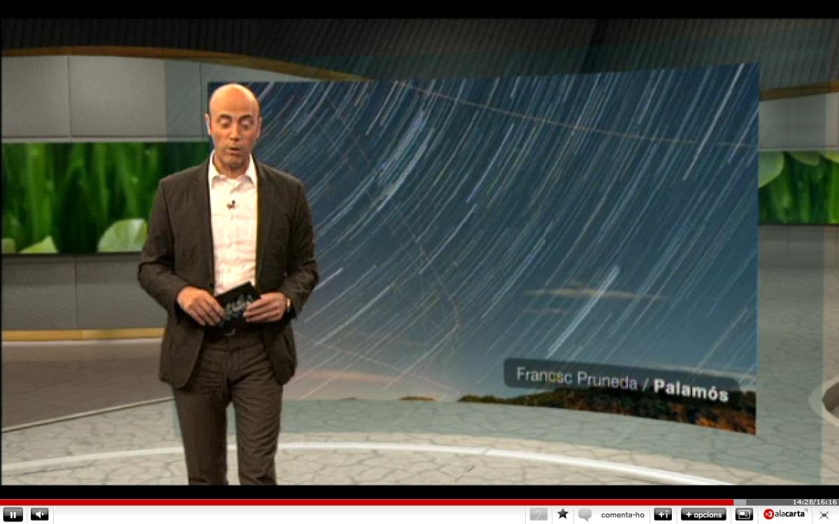 Dracònids a Espai Terra, TV3