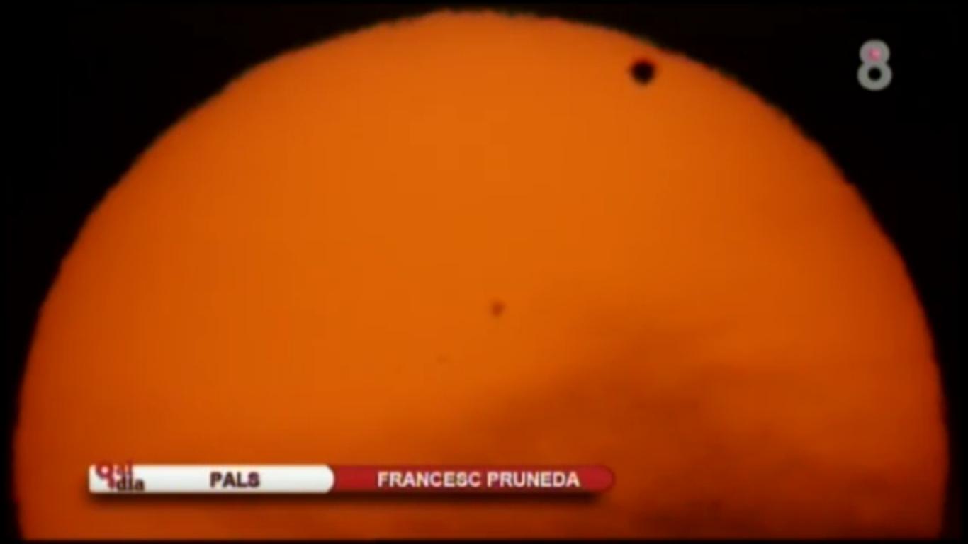 Trànsit de Venus a 8tv