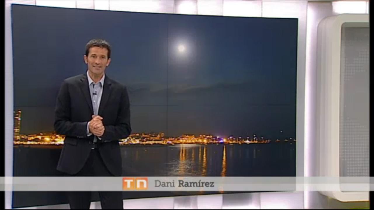 Foto de fons al Telenotícies Vespre de TV3