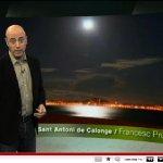Reflex de la lluna sobre la badia de Palamós