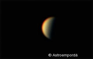 Venus minvant