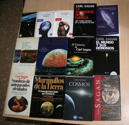llibres Carl Sagan
