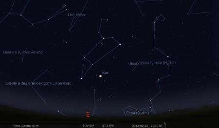 Mart a lleó (Stellarium)