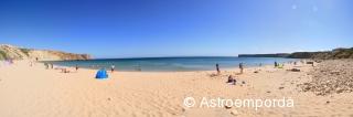 Panoràmica de la platja de Sagres