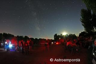 Astromartos 2011: observació, via làctea i la lluna