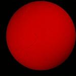 Filament solar amb el disc sencer
