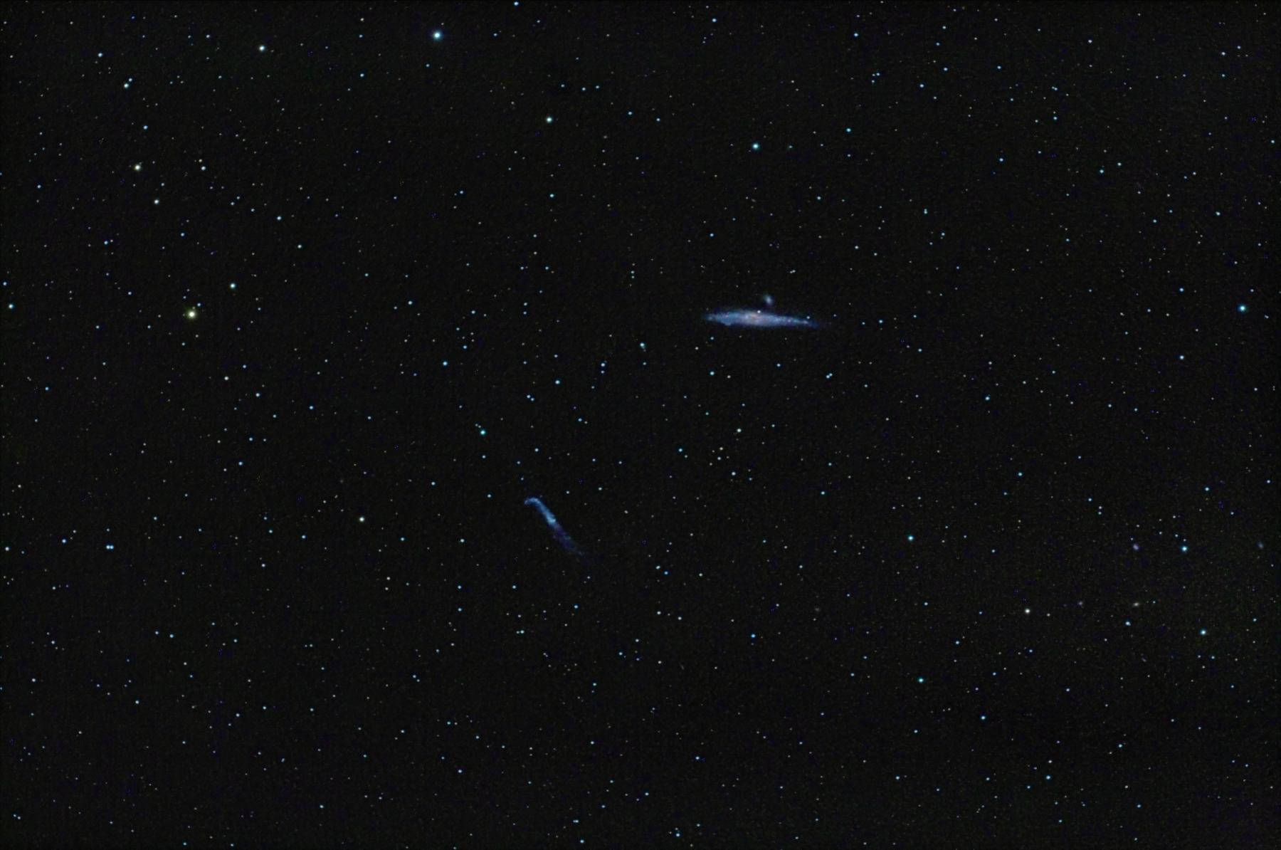 Galàxia de la balena NGC 4631 i NGC 4656