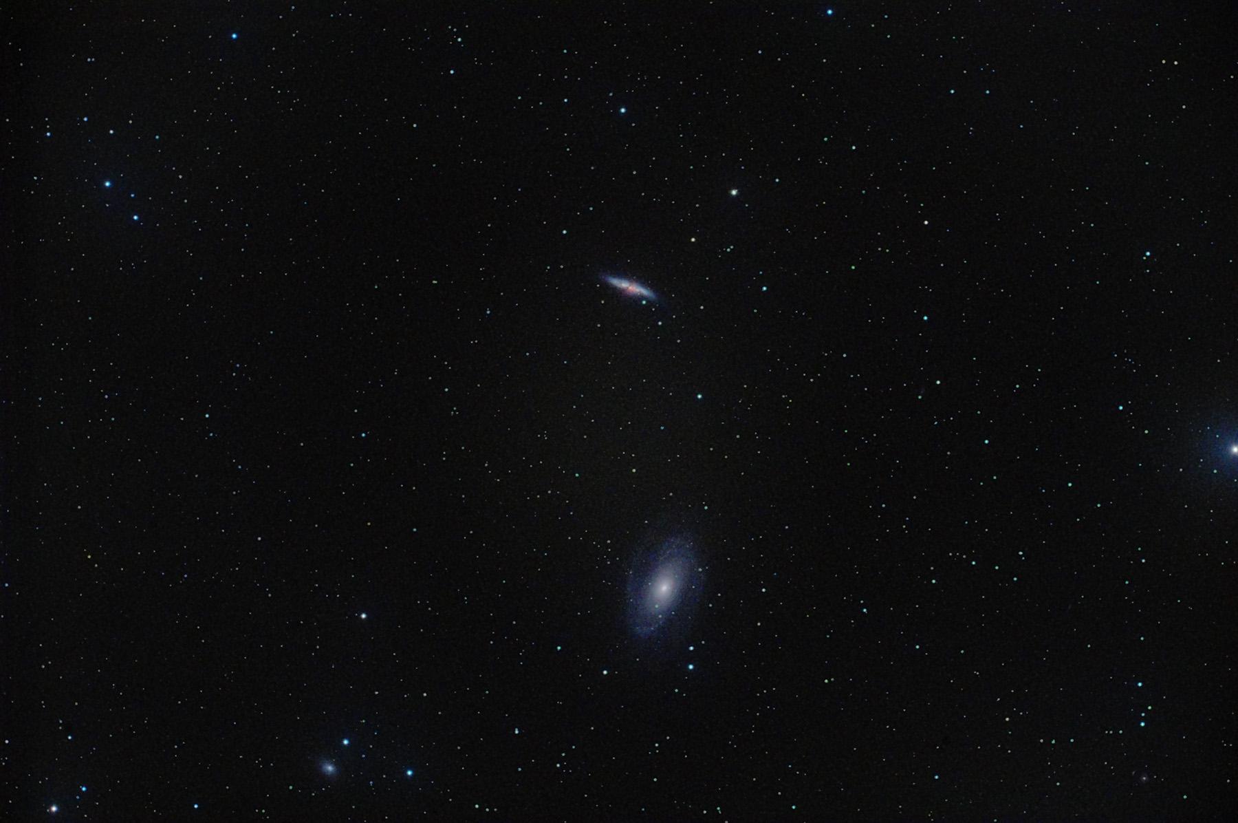 Galàxies M81 i M82 amb supernova 2014J