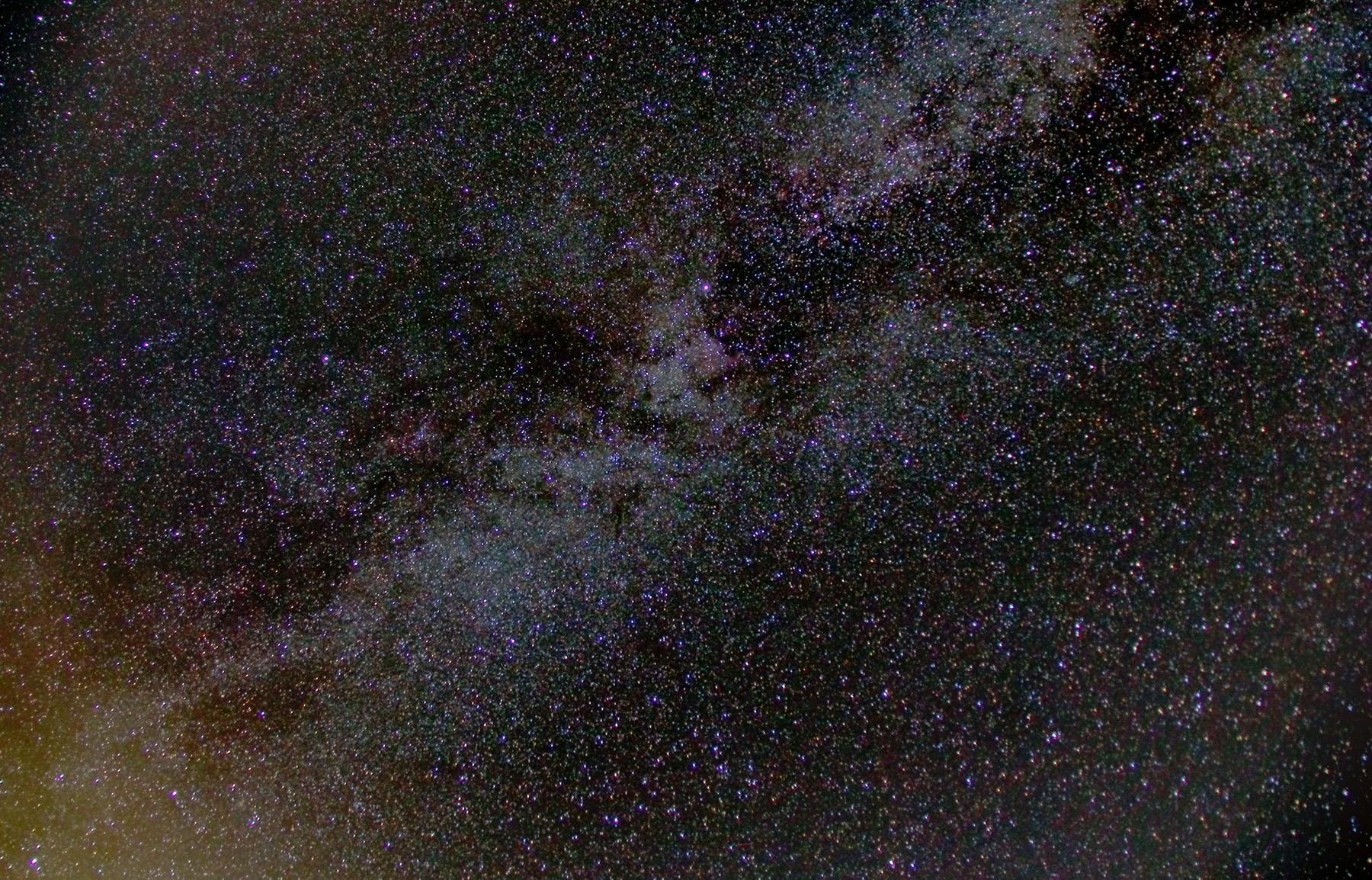 Via làctea a cygnus nord