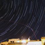 Traços d\'estrelles esperant les Quadràntides