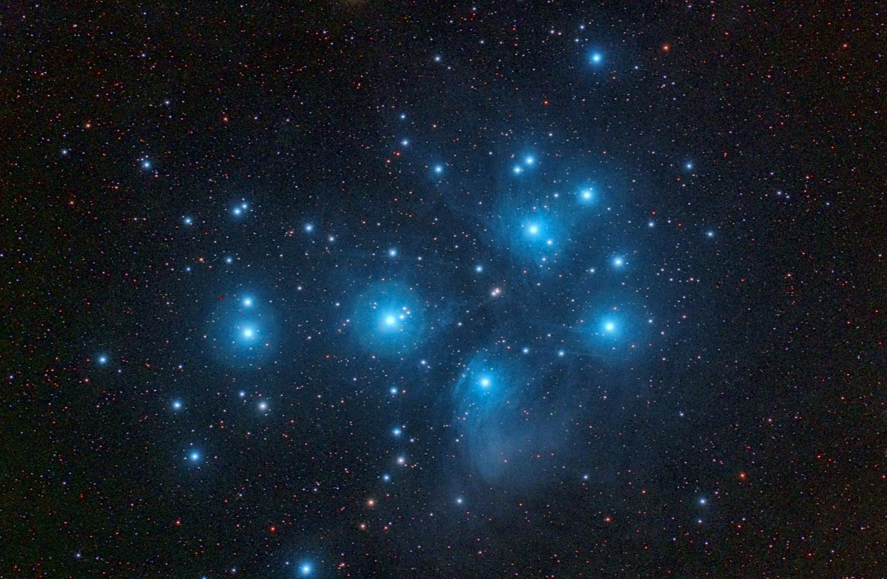 Les plèiades M45