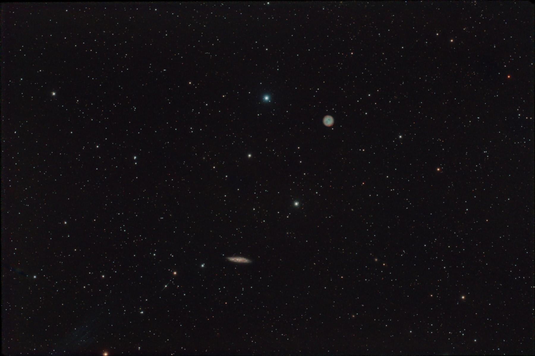 Nebulosa M97 i galàxia M108
