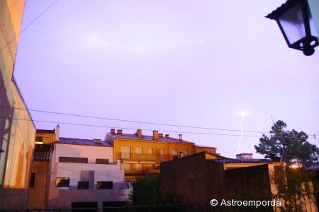 Tempesta a Palafrugell