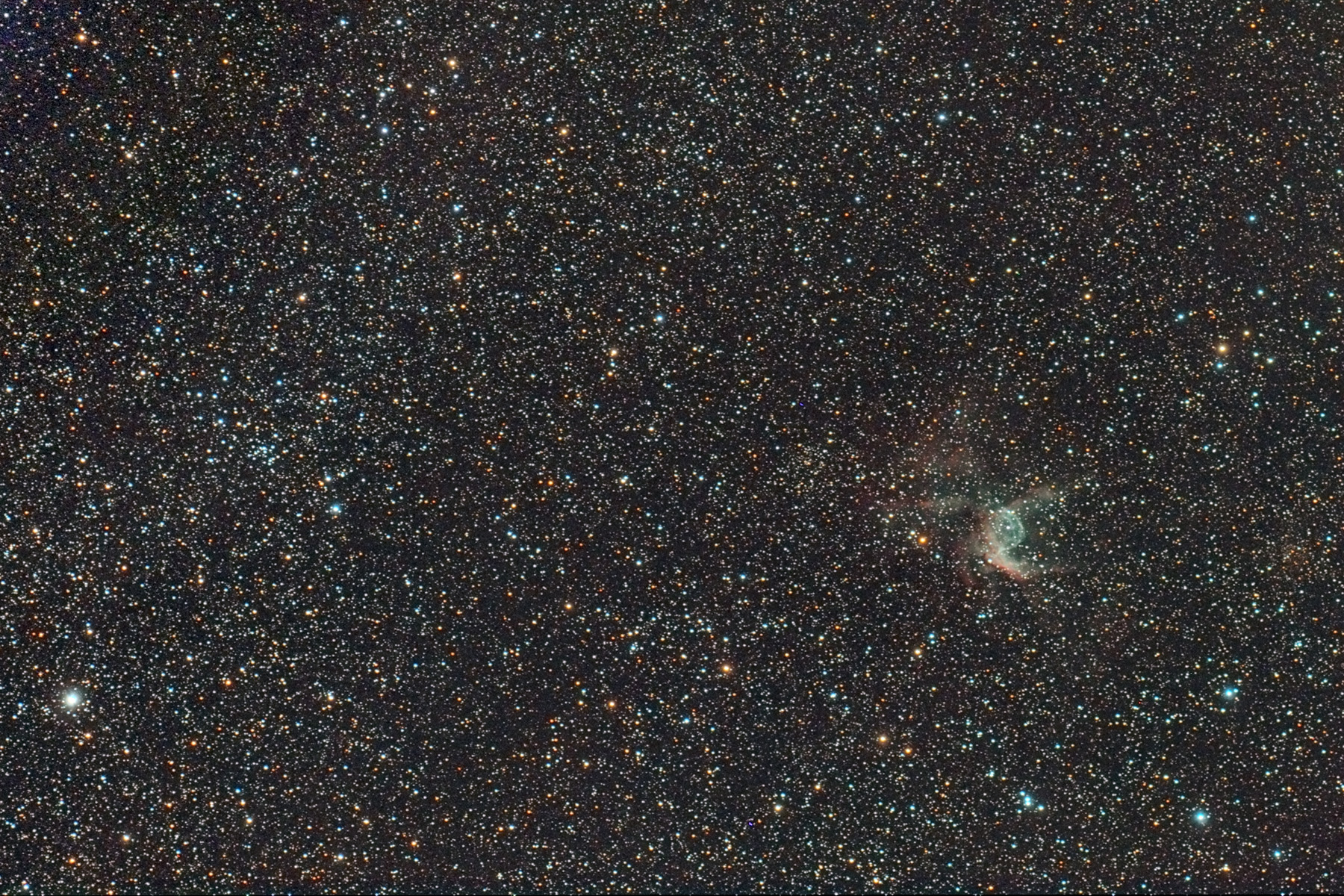 Casc de Thor NGC 2359 i NGC2374