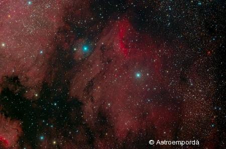 Nebulosa del Pelicà IC 5070