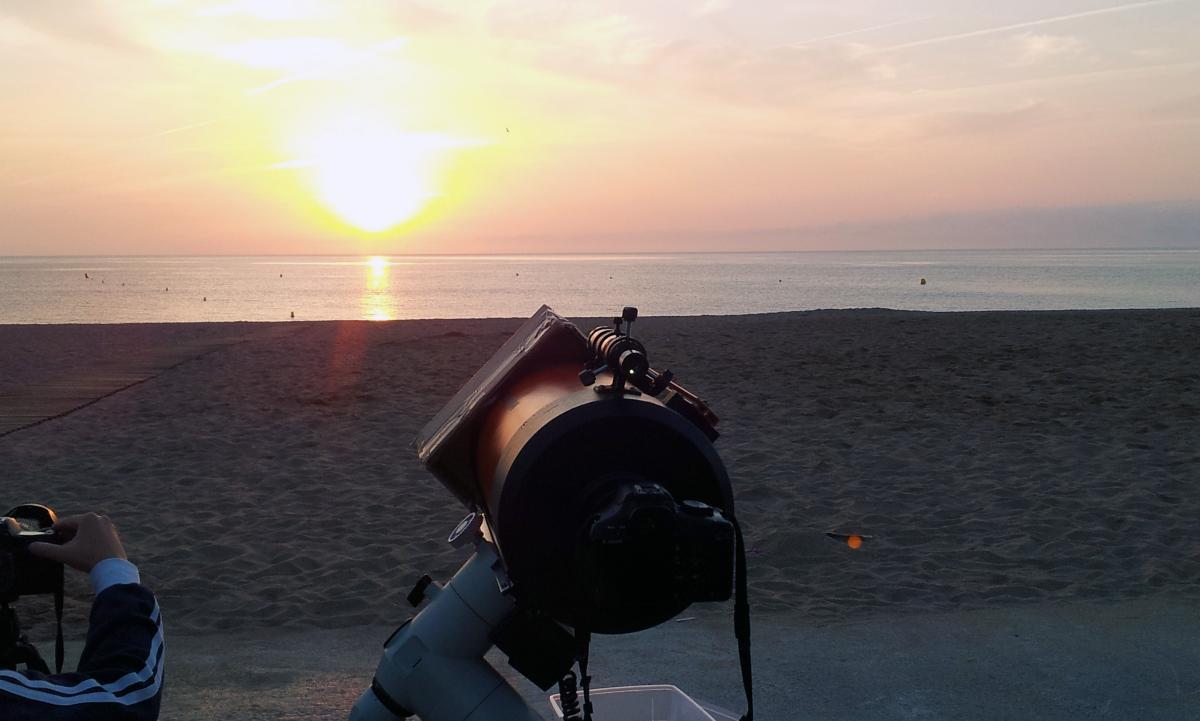 Observació del trànsit de Venus