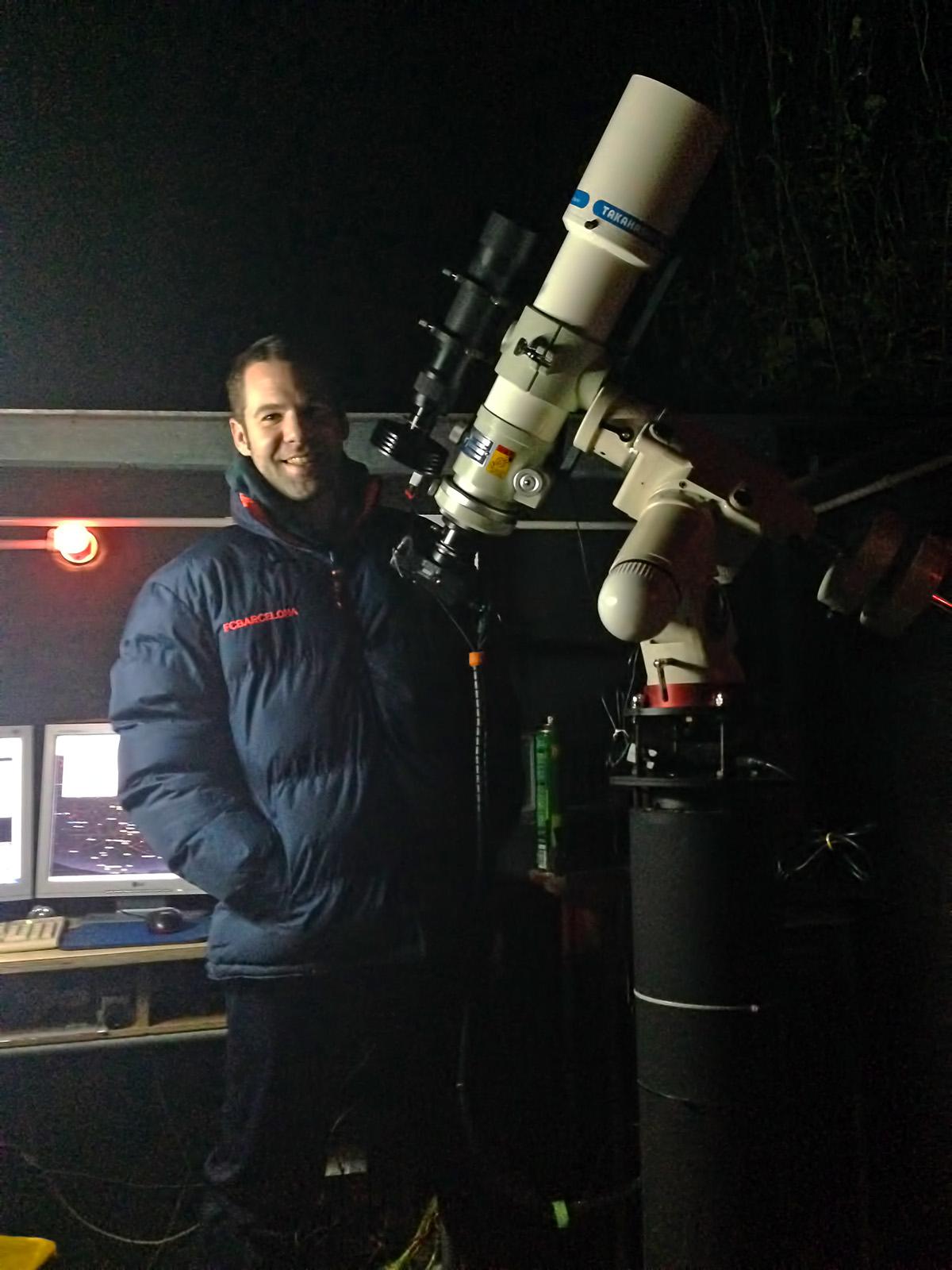 A l'observatori Can Duran