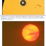 Taques solars a Spaceweather.com