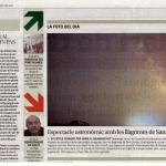 Perseids al Diari de Girona