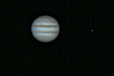 Júpiter amb barlow 2,4x